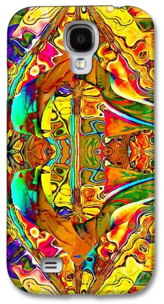 Abstract Digital Digital Galaxy S4 Cases - Big Rock Candy Mountain Galaxy S4 Case by Amanda Moore