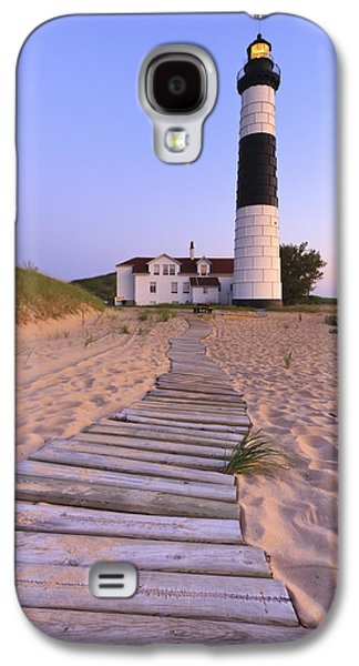 Lake House Galaxy S4 Cases - Big Sable Point Lighthouse Galaxy S4 Case by Adam Romanowicz