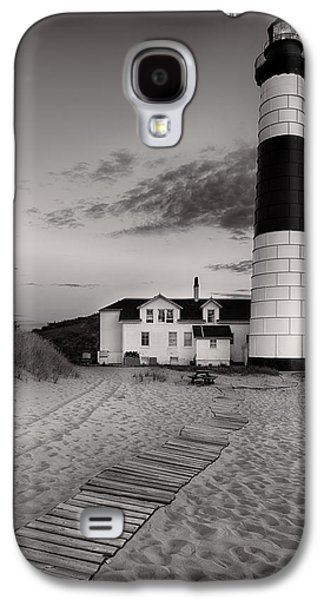Big Sable Point Lighthouse In Black And White Galaxy S4 Case by Sebastian Musial
