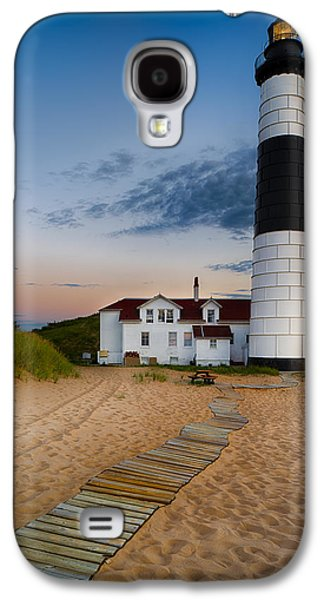 Ethereal Galaxy S4 Cases - Big Sable Point Lighthouse Galaxy S4 Case by Sebastian Musial