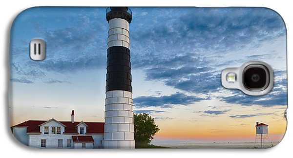 Big Sable Point Lighthouse Sunset Galaxy S4 Case by Sebastian Musial