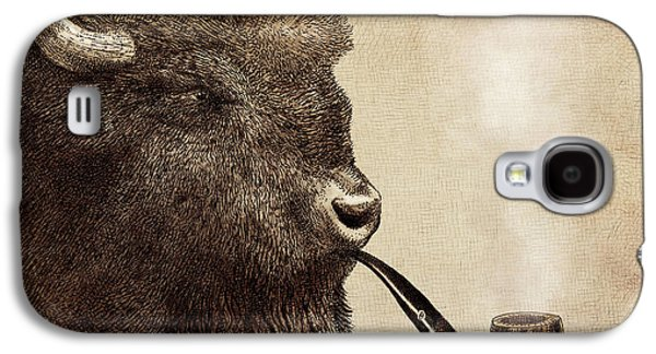Recently Sold -  - Drawing Galaxy S4 Cases - Big Smoke Galaxy S4 Case by Eric Fan