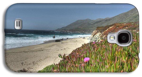 Big Sur Ca Galaxy S4 Cases - Big Sur Beach Galaxy S4 Case by Jane Linders