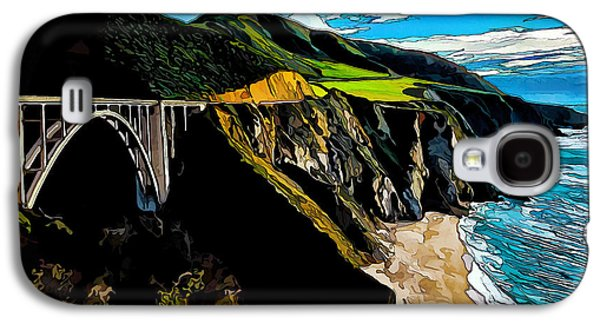 Bixby Bridge Galaxy S4 Cases - Big Sur Bridge Galaxy S4 Case by Bill Caldwell -        ABeautifulSky Photography