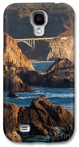 Bixby Bridge Galaxy S4 Cases - Big Sur Coastal Serenity Galaxy S4 Case by Mike Reid