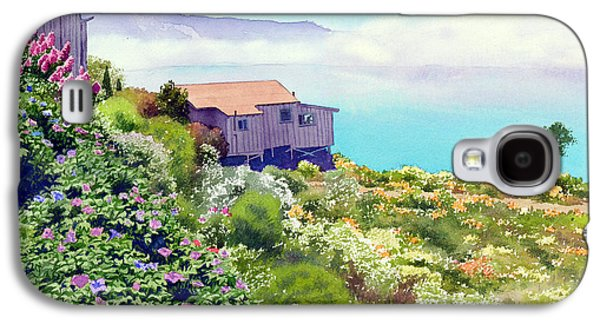 Big Sur California Galaxy S4 Cases - Big Sur Cottage Galaxy S4 Case by Mary Helmreich