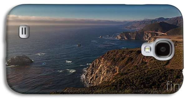 Bixby Bridge Galaxy S4 Cases - Big Sur Headlands Galaxy S4 Case by Mike Reid