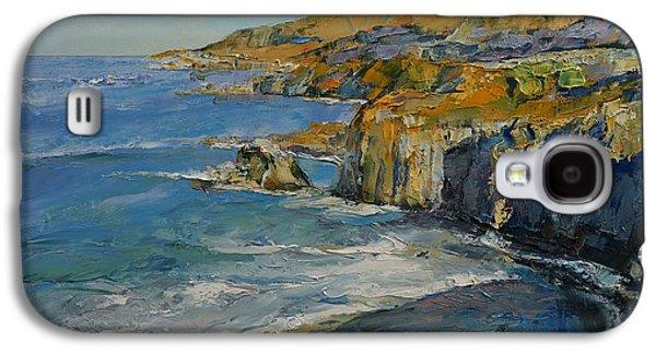 Big Sur California Galaxy S4 Cases - Big Sur Galaxy S4 Case by Michael Creese