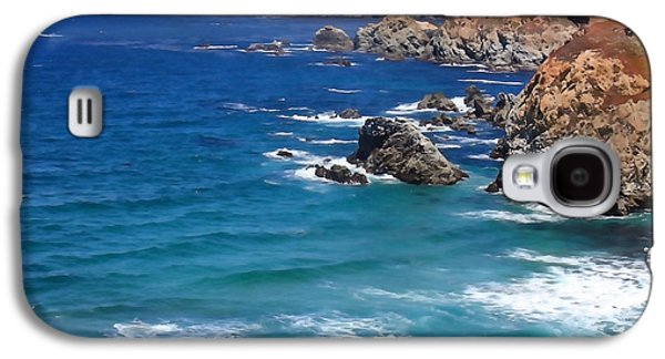 Big Sur Ca Galaxy S4 Cases - Big Sur Panoramic Galaxy S4 Case by Art Block Collections