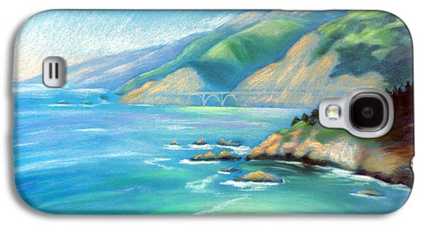 Bixby Bridge Galaxy S4 Cases - Big Sur Serenity Galaxy S4 Case by Karin  Leonard