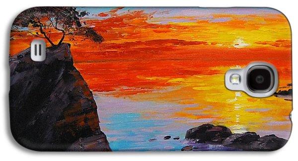 Big Sur Sunset Galaxy S4 Case by Graham Gercken