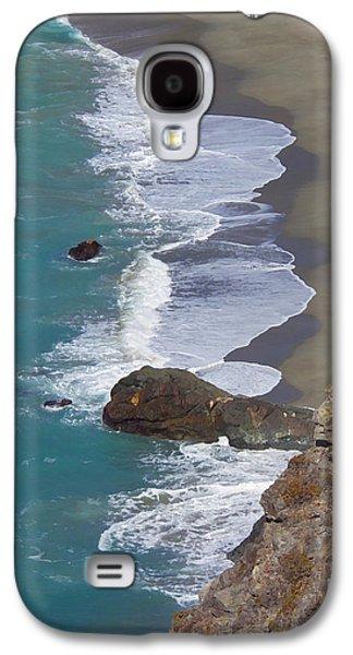 Big Sur Ca Galaxy S4 Cases - Big Sur Surf Galaxy S4 Case by Art Block Collections