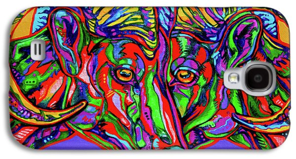 Vivid Colour Galaxy S4 Cases - Bighorn Sheep Galaxy S4 Case by Derrick Higgins
