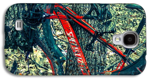 Bike By Wilderness  Galaxy S4 Case by Steven  Digman