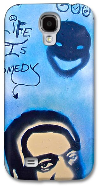 Moral Paintings Galaxy S4 Cases - Bill Cosby Galaxy S4 Case by Tony B Conscious
