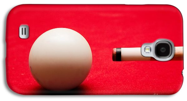Ball Photographs Galaxy S4 Cases - Billards pool game Galaxy S4 Case by Michal Bednarek