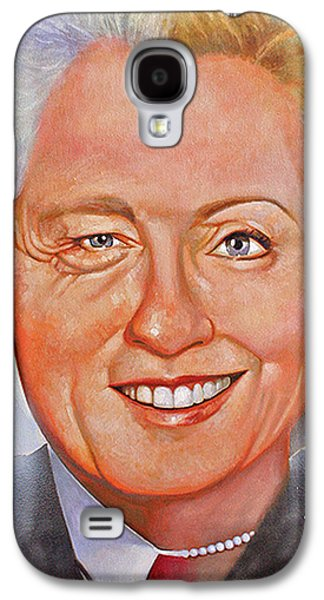 Hillary Clinton Galaxy S4 Cases - Billary Galaxy S4 Case by Gary McLaughlin
