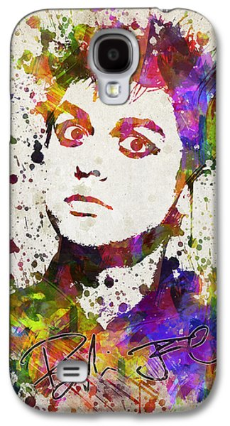 Splutter Digital Galaxy S4 Cases - Billie Joe Armstrong in Color Galaxy S4 Case by Aged Pixel