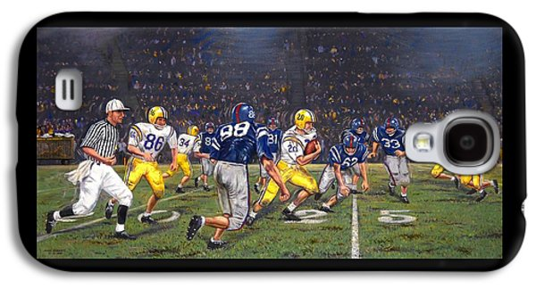 Billy Cannon's Halloween Heisman Haul Galaxy S4 Case by Mike Roberts