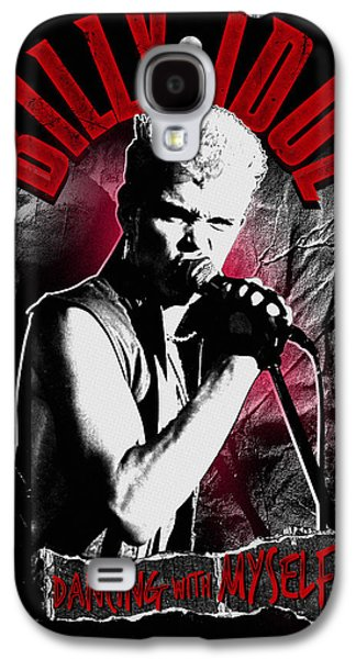 Punk Photographs Galaxy S4 Cases - Billy Idol - Dancing with Myself Galaxy S4 Case by Epic Rights