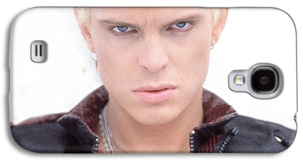 Punk Photographs Galaxy S4 Cases - Billy Idol - Early Years Galaxy S4 Case by Epic Rights