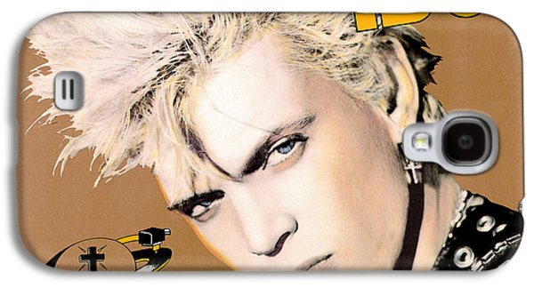 Punk Photographs Galaxy S4 Cases - Billy Idol - Whiplash Smile 1986 Galaxy S4 Case by Epic Rights
