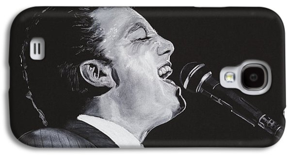 Piano Pastels Galaxy S4 Cases - Billy Joel Galaxy S4 Case by Kenneth  Williams