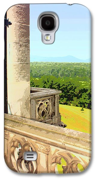 Asheville Galaxy S4 Cases - BILTMORE BALCONY Asheville NC Galaxy S4 Case by William Dey