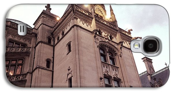 Historical Buildings Galaxy S4 Cases - Biltmore Estate Mansion Architecture - American Castles Ashevile North Carolina Galaxy S4 Case by Kathy Fornal