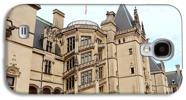 Historical Buildings Galaxy S4 Cases - Biltmore Mansion Estate Ashville North Carolina - Biltmore Mansion Archictecture  Galaxy S4 Case by Kathy Fornal