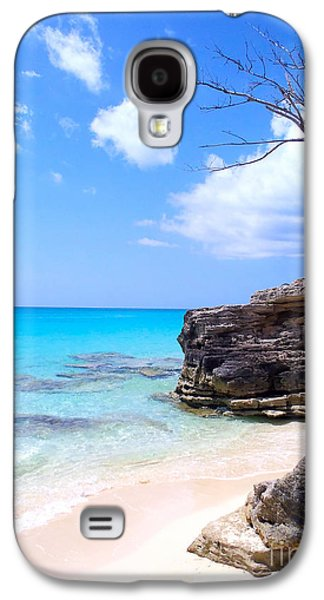 Wahoo Galaxy S4 Cases - Bimini Beach Galaxy S4 Case by Carey Chen