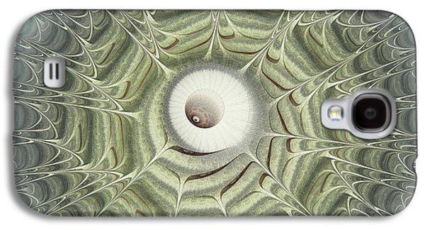 Virology Galaxy S4 Cases - Biohazard Galaxy S4 Case by Anastasiya Malakhova