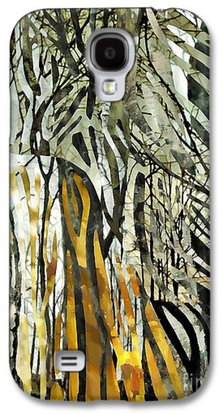 Business Galaxy S4 Cases - Birch Forest Galaxy S4 Case by Sarah Loft