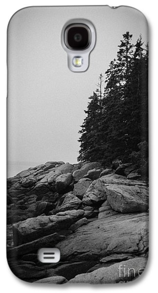 Midcoast Galaxy S4 Cases - Birch Point Black and White Galaxy S4 Case by Belinda Dodd