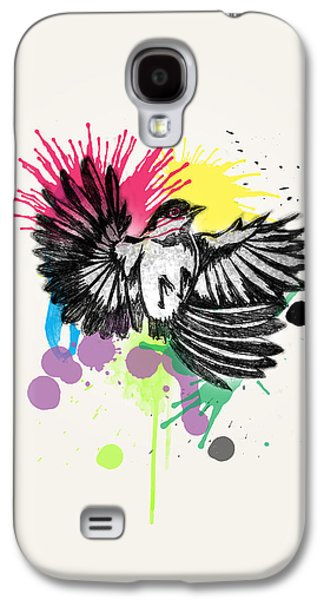 Animation Galaxy S4 Cases - Bird Galaxy S4 Case by Mark Ashkenazi