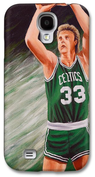 Larry Bird Galaxy S4 Cases - Bird Galaxy S4 Case by Marlon Huynh
