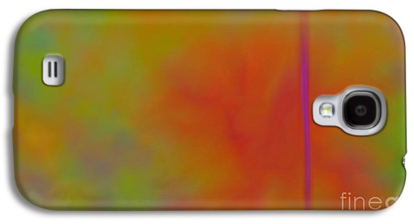 Abstract Digital Paintings Galaxy S4 Cases - Bird Of Paradise Galaxy S4 Case by Anita Lewis