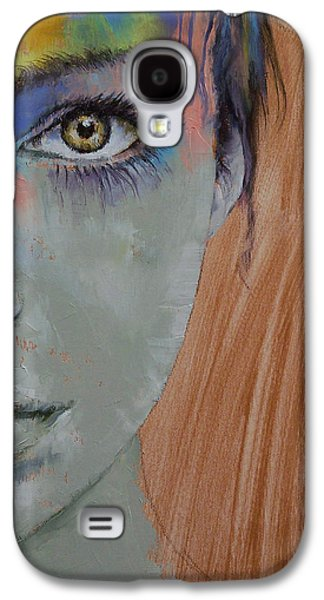 Airbrush Galaxy S4 Cases - Bird of Paradise Galaxy S4 Case by Michael Creese