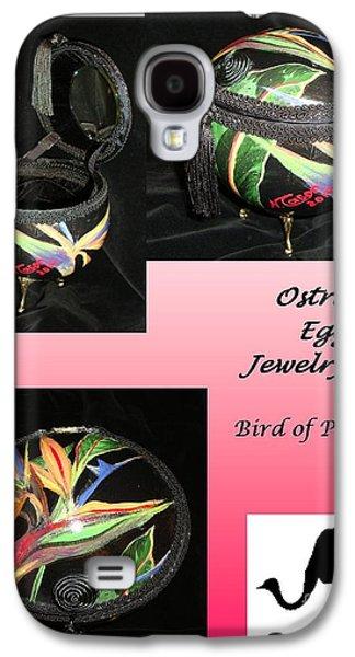 Animals Jewelry Galaxy S4 Cases - Bird of Paradise Galaxy S4 Case by Nancy Cason