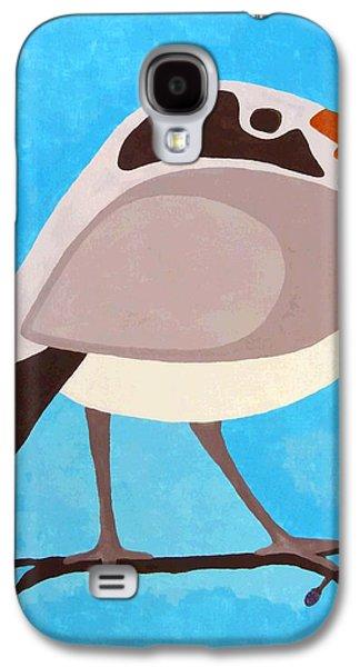 Eye-catching Galaxy S4 Cases - Bird On Branch Galaxy S4 Case by Will Borden