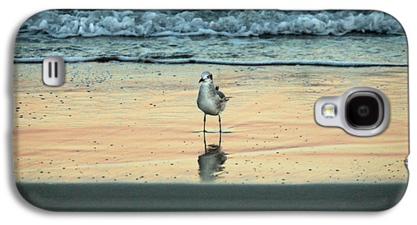 Abstract Nature Galaxy S4 Cases - Bird Reflection Galaxy S4 Case by Cynthia Guinn