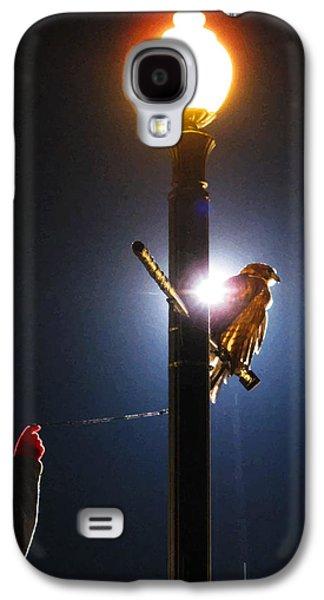 Behind The Scenes Digital Galaxy S4 Cases - Bird Wrangling Galaxy S4 Case by Lesley DeHaan