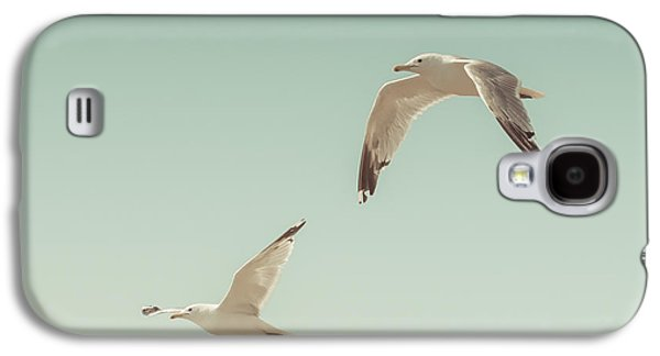 Birds Of A Feather Galaxy S4 Case by Lucid Mood