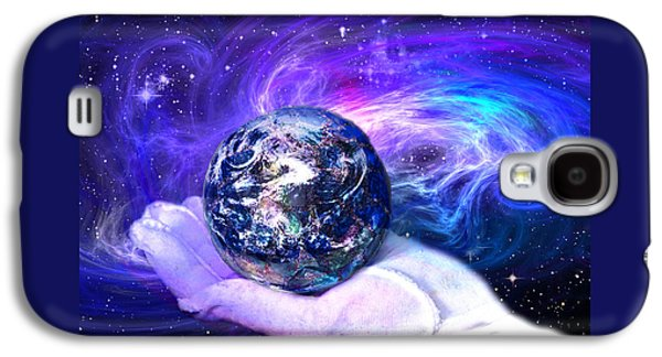 Birth Of A Planet Galaxy S4 Case by Lisa Yount