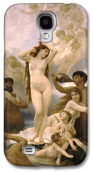 Birth Of Venus Galaxy S4 Case by William Bouguereau