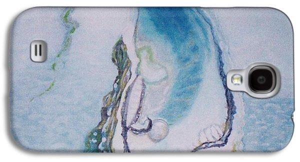 Paiting Galaxy S4 Cases - Birth pearls Galaxy S4 Case by Bozena Simeth