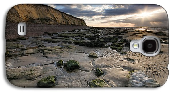Beach Landscape Galaxy S4 Cases - Bishopstone - Herne Bay Galaxy S4 Case by Ian Hufton