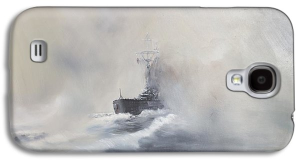Bismarck Evades Her Pursuers Galaxy S4 Case by Vincent Alexander Booth