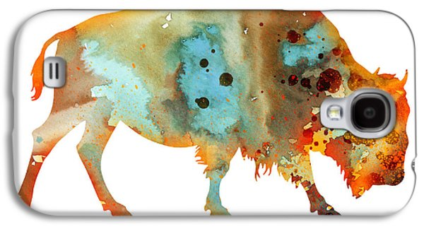 Bison Galaxy S4 Cases - Bison 5 Galaxy S4 Case by Luke and Slavi