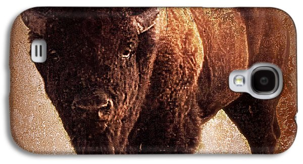 Bison Galaxy S4 Case by Mindy Bench